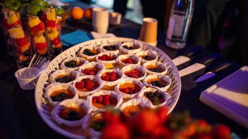 assortiment tartelettes buffet